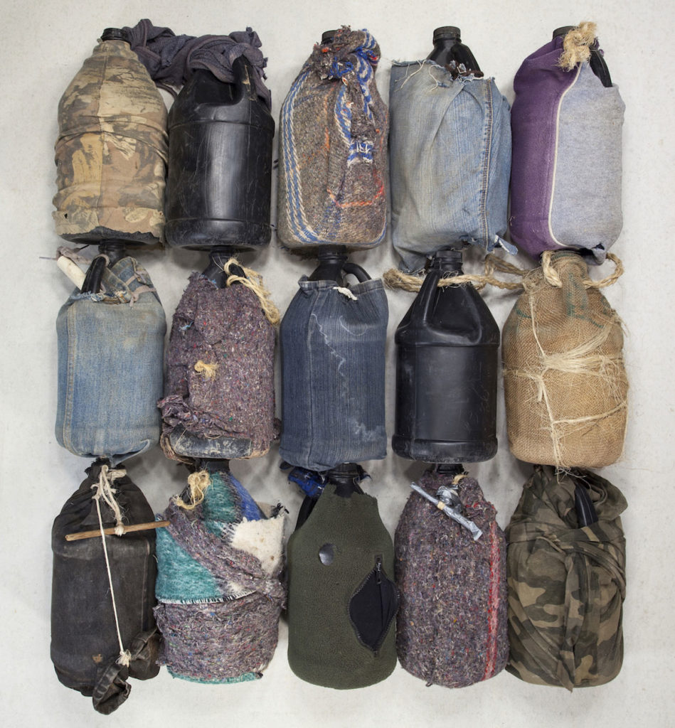 "Tom Kiefer, ""Water Bottles."" (Courtesy)"