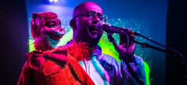 """Ventriloquist David Liebe Hart will perform at the """"Living Objects: African American Puppetry Festival and Symposium."""" (Photo: Chad Cooper)"""