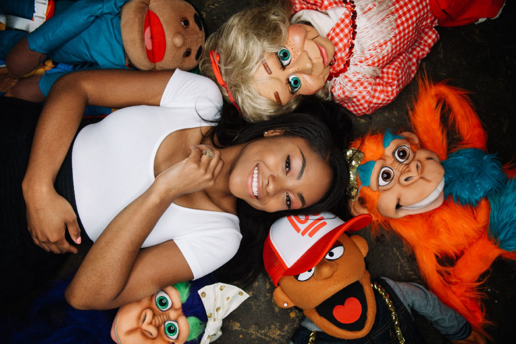 "Ventriloquist Megan Piphus will perform at the ""Living Objects: African American Puppetry Festival and Symposium."" (Photo: David Teran)"