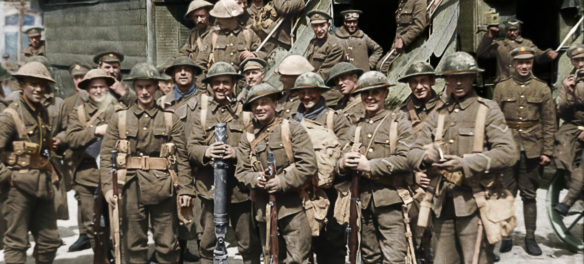 "Peter Jackson's WWI documentary ""They Shall Not Grow Old."" (Courtesy of Warner Bros. Pictures)"