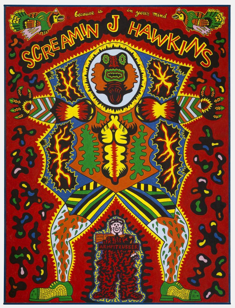 "Karl Wirsum, ""Screamin' Jay Hawkins,"" 1968."
