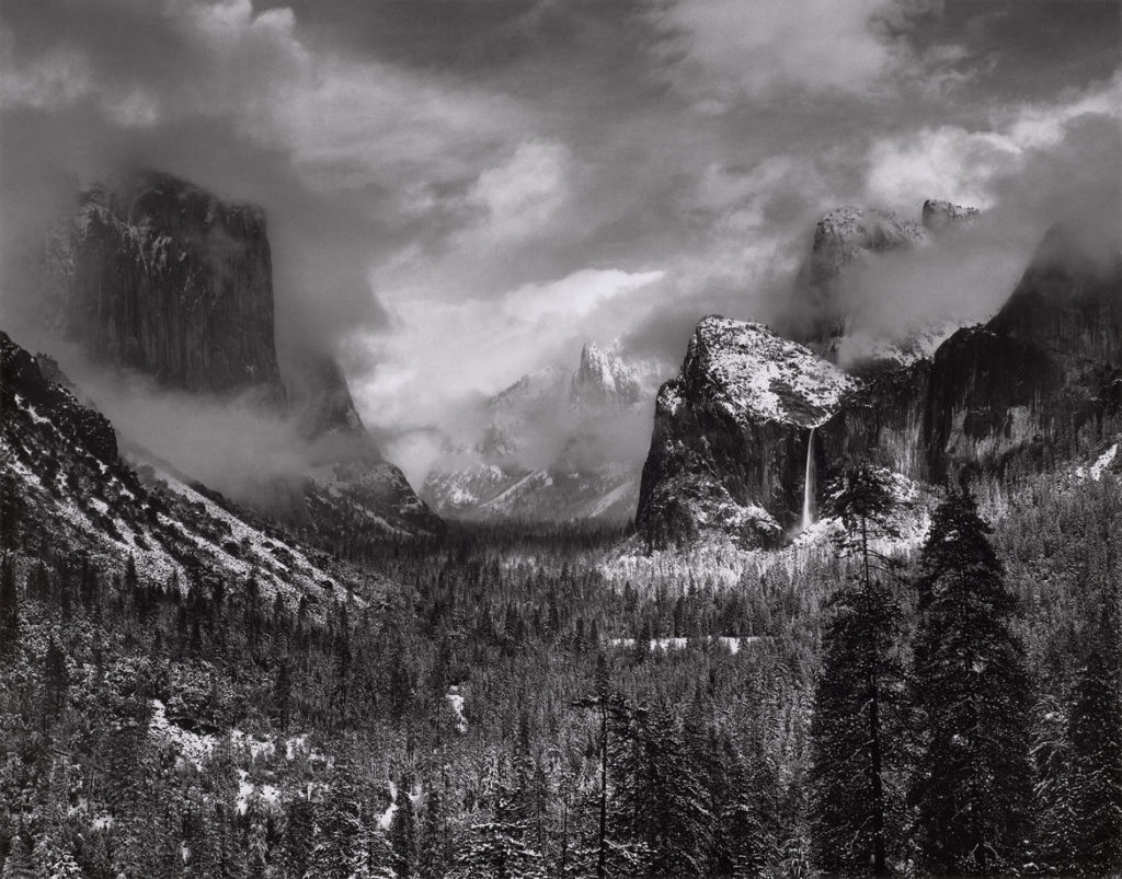 Reckoning With Ansel Adams's Photos Of A Mythic, Pristine ...Ansel Adams Clearing Winter Storm