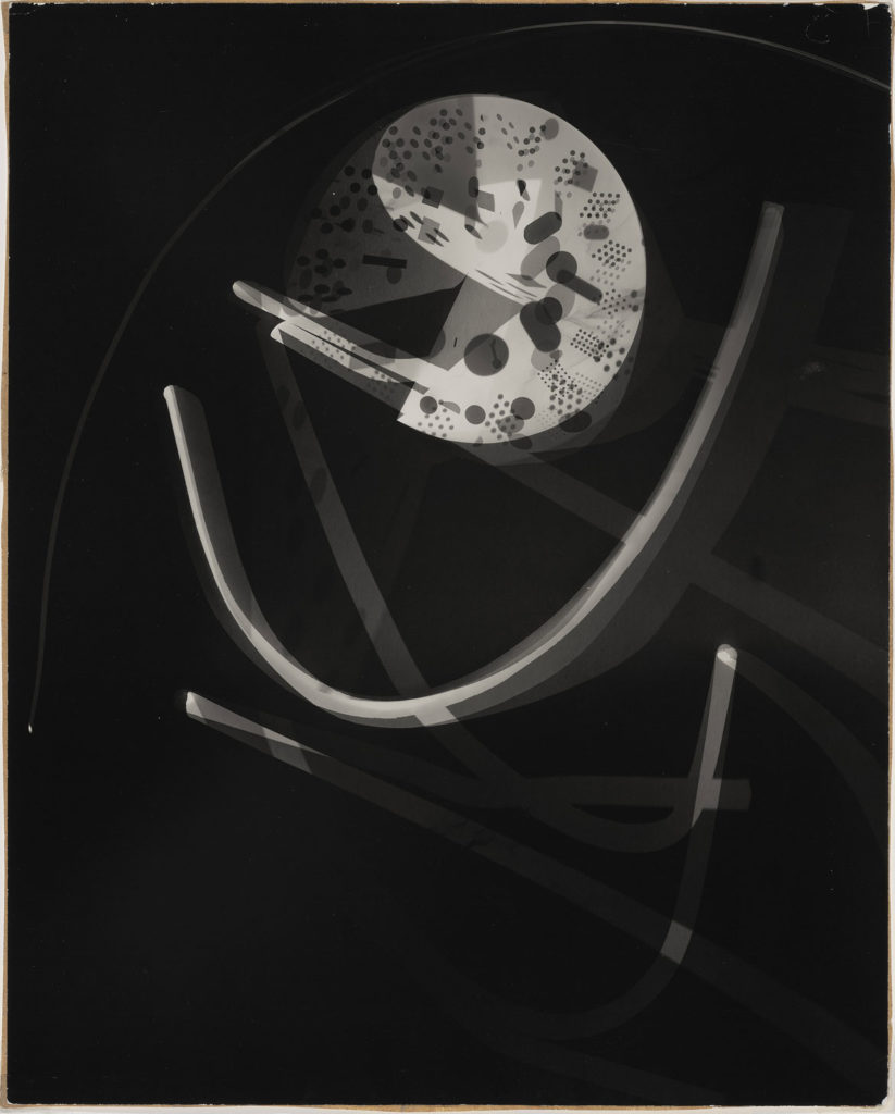 "At Museum of Fine Arts: László Moholy-Nagy, ""Untitled,"" 1939, photogram. (Courtesy Museum of Fine Arts, Boston)"