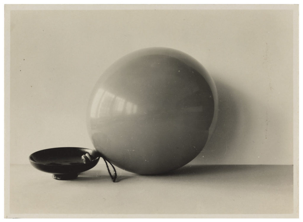 "At MIT Museum: Etel Mittag-Fodor, ""Ball and Bowl,"" 1928. (Courtesy Bauhaus-Archiv, Berlin)"