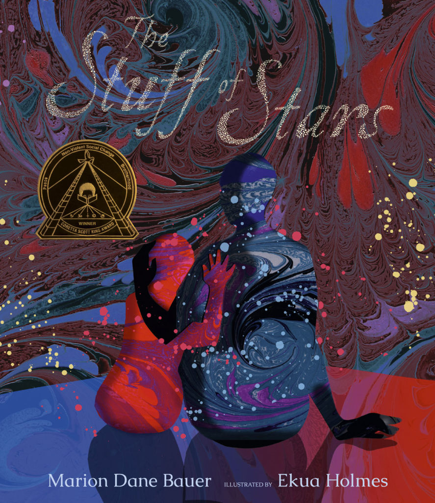 """The Stuff of Stars,"" illustrated by Ekua Holmes and authored by Marion Dane Bauer, 2018. (Candlewick Press)"