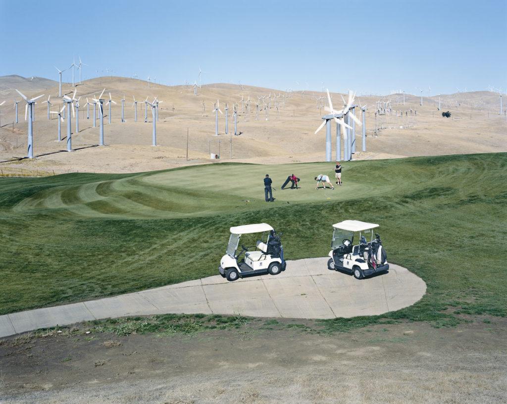 "Mitch Epstein, ""Altamont Pass Wind Farm, California,"" 2007, photograph, chromogenic print. (Courtesy, Museum of Fine Arts, Boston)"