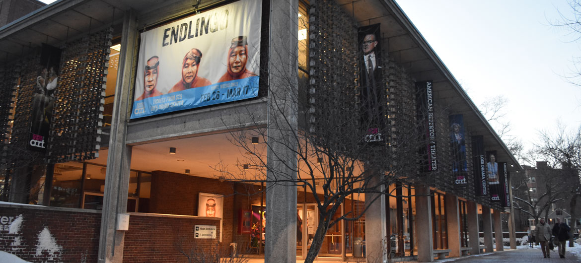American Repertory Theater at Harvard's Loeb Drama Center on Brattle Street, Cambridge. (Greg Cook)