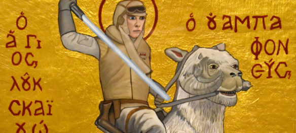 "Alex Ramos, ""St. Luke, Wampa-slayer."""