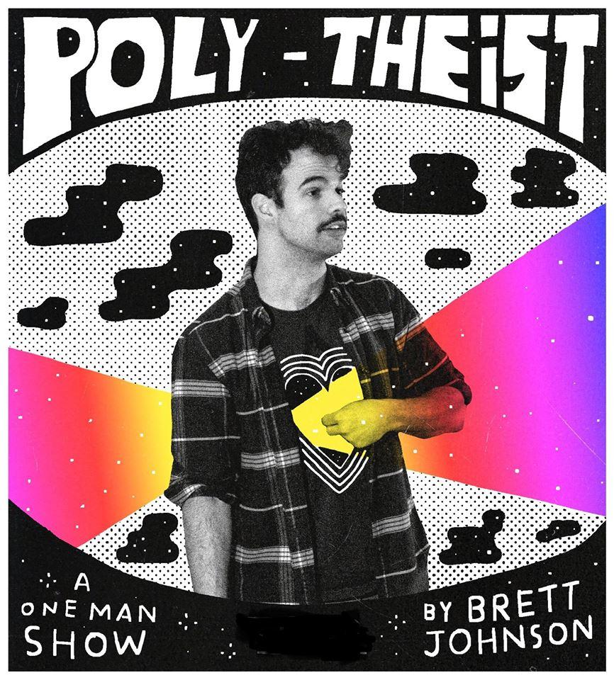 "Brett Johnson's ""Poly-Theist."""