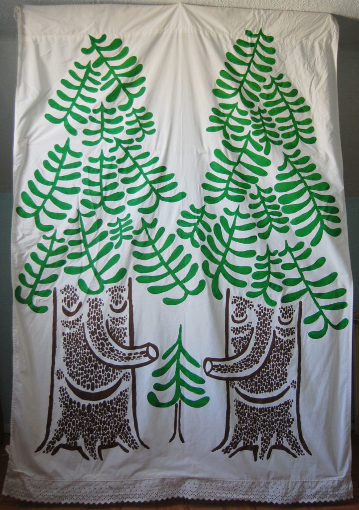"Greg Cook's ""Enchanted Forest"" banner. (Greg Cook)"