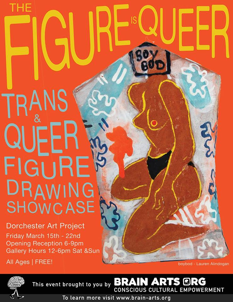"""The Figure is Queer"" at Dorchester Art Project, Boston."
