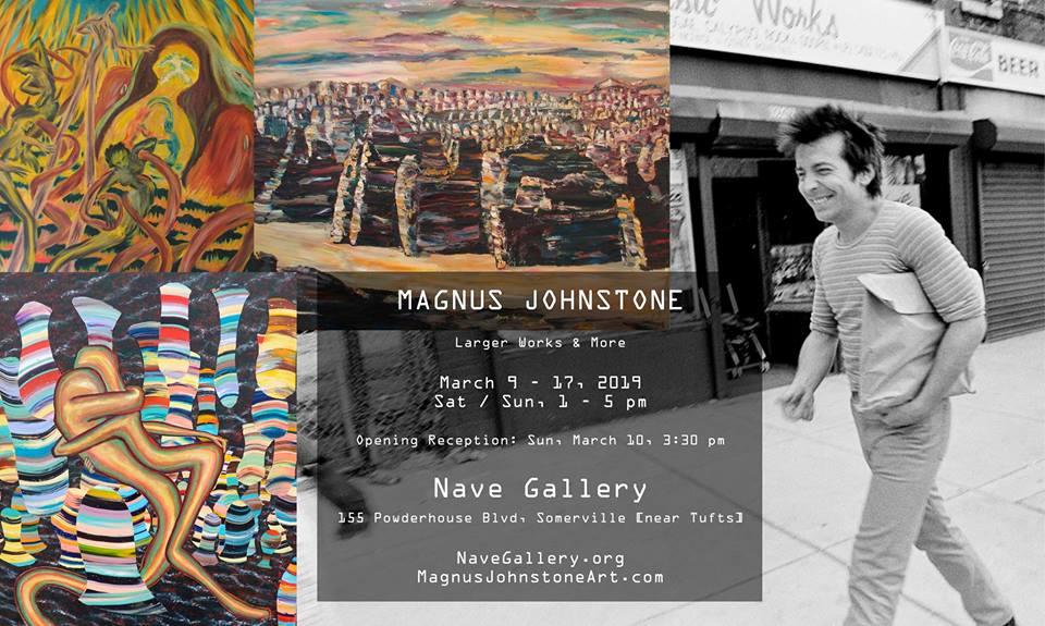 "Magnus Johnstone ""Larger Works & More"" at Nave Gallery"