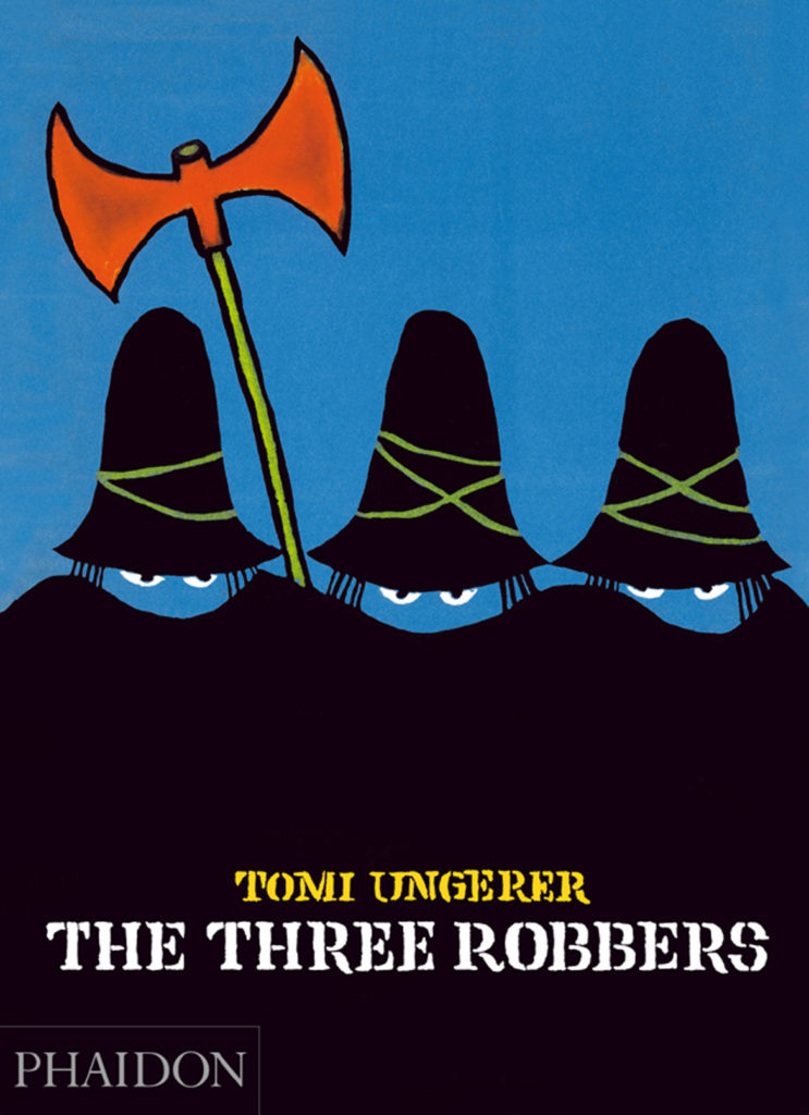"""Tomi Ungerer's 1962 book """"The Three Robbers."""" (Courtesy Phaidon)"""