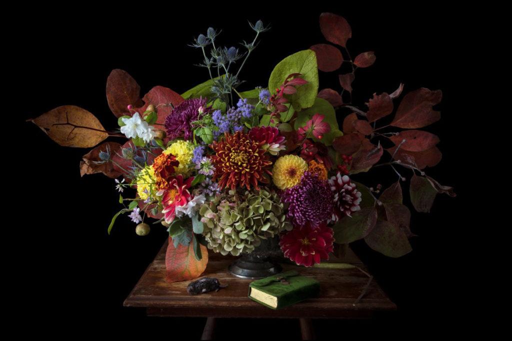 """Kimberly Witham, """"Autumn,"""" 2017. (Courtesy Gallery Kayafas)"""