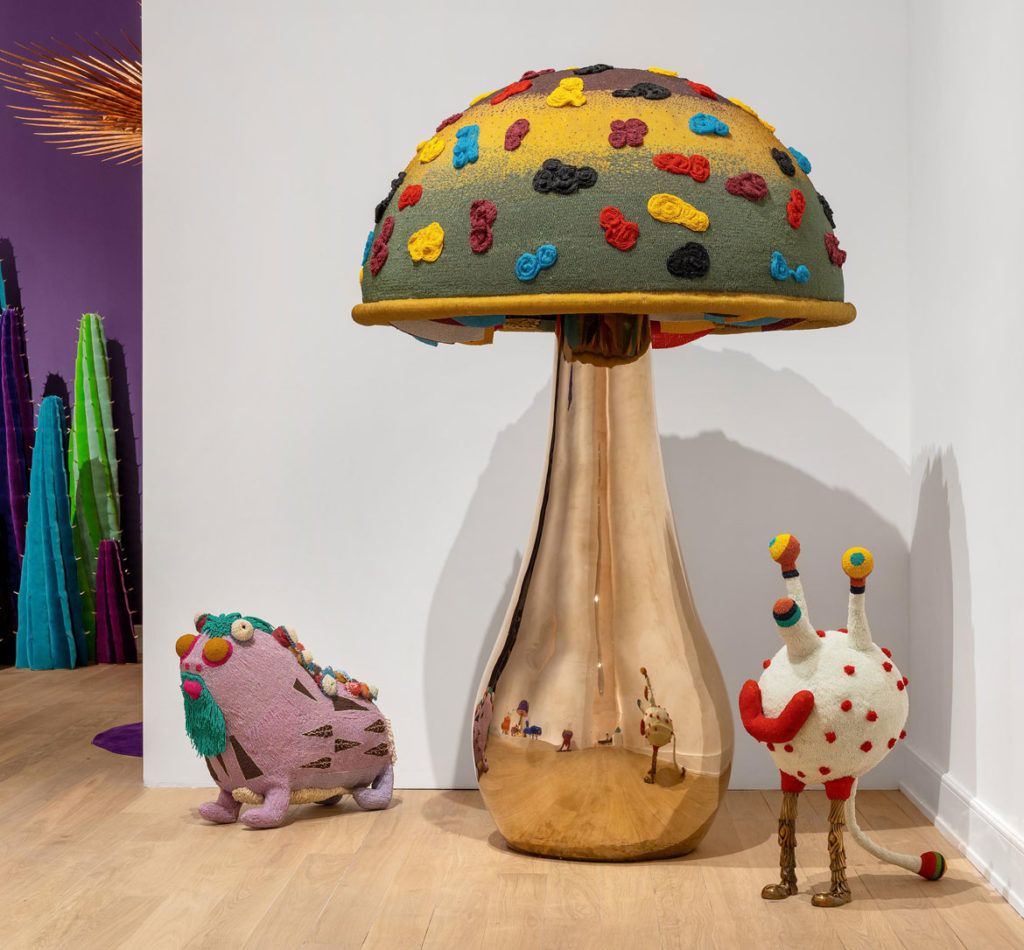 """The Haas Brothers, """"Ferngully"""" at The Bass Museum of Art, Florida, December 5, 2018 – April 21, 2019. (Photo: Zachary Balber; courtesy The Bass)"""