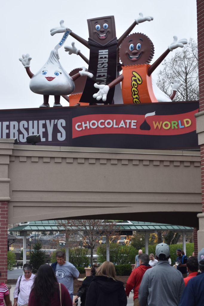 Hershey's Chocolate World, Hershey, Pennsylvania, April 14, 2019. (Greg Cook)