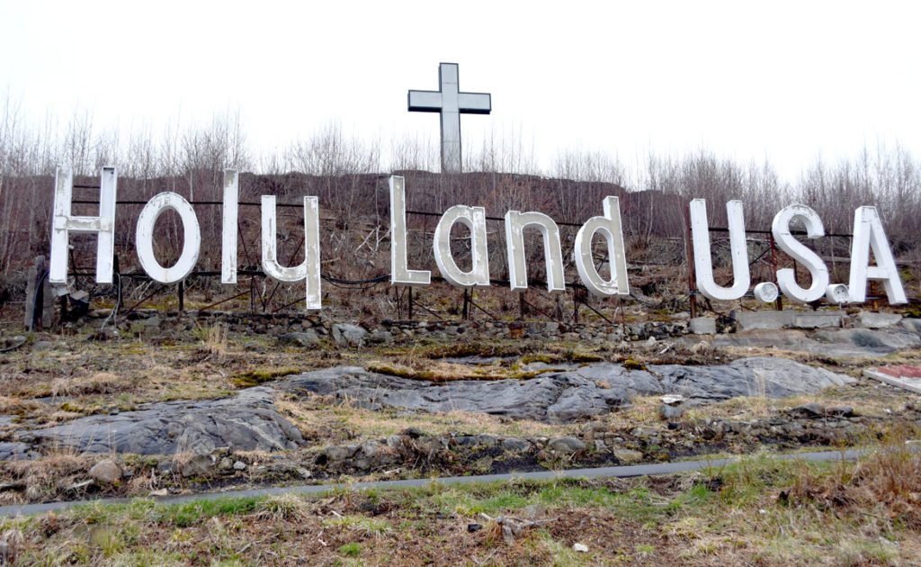 Holy Land USA in Waterbury, Connecticut, April 18, 2019. (Greg Cook)
