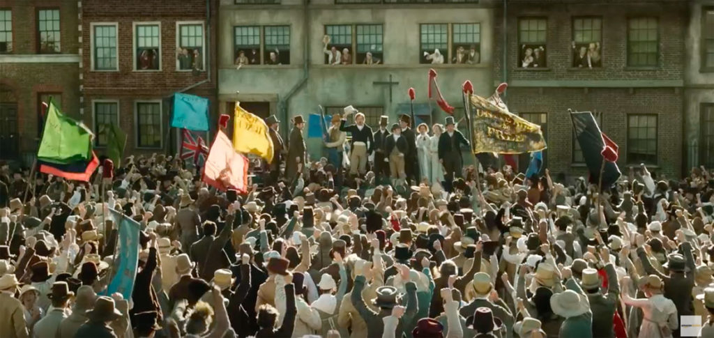 "Mike Leigh's 2019 film ""Peterloo."" (Amazon Films)"