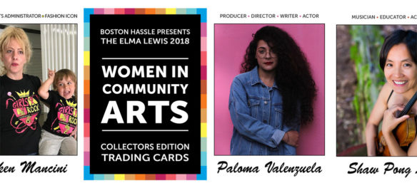 """""""The Elma Lewis 2018 Women in Community Arts Collectors Edition Trading Cards"""" set created by Neil Horsky. (Courtesy)"""