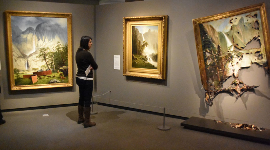 """""""Nature's Nation: American Art and Environment"""" at Salem's Peabody Essex Museum. (Greg Cook)"""