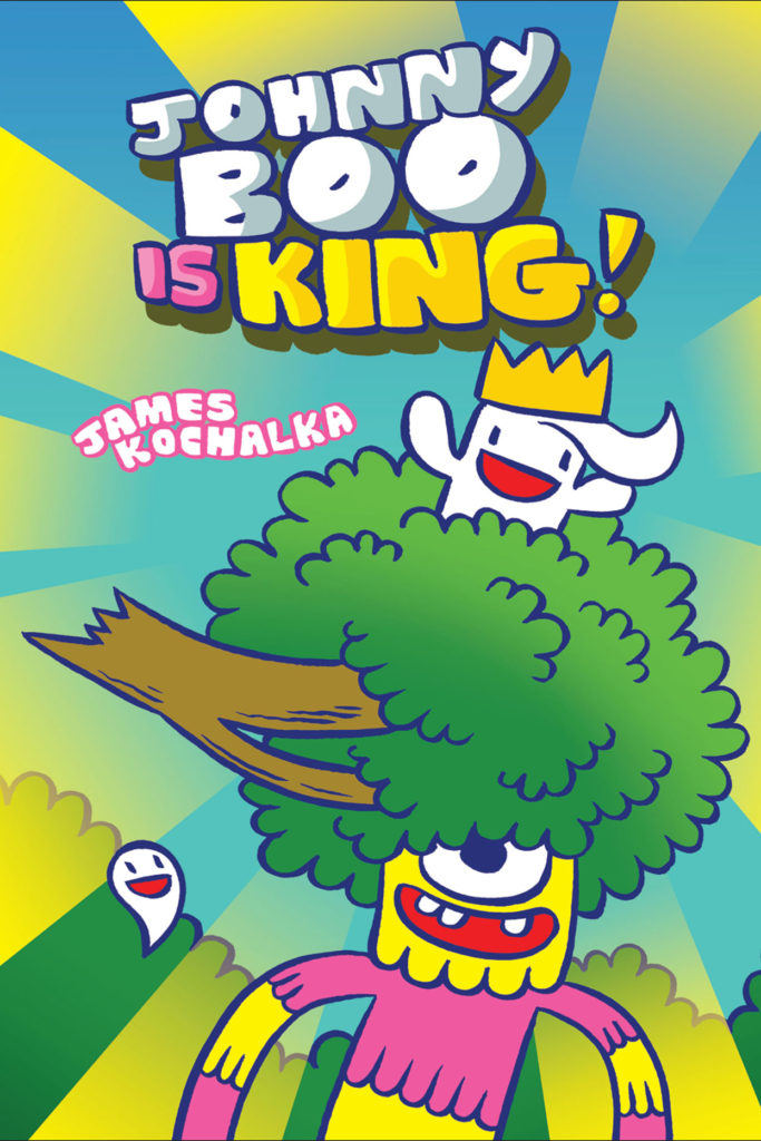 """Johnny Boo is King!"" by James Kochalka. (Top Shelf Productions)"