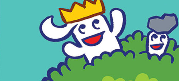 """From """"Johnny Boo is King!"""" by James Kochalka. (Top Shelf Productions)"""