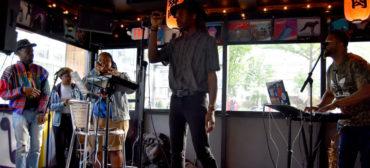 Cliff Notez performs at Hojoko at the Verb Hotel, May 18, 2018. (Greg Cook)
