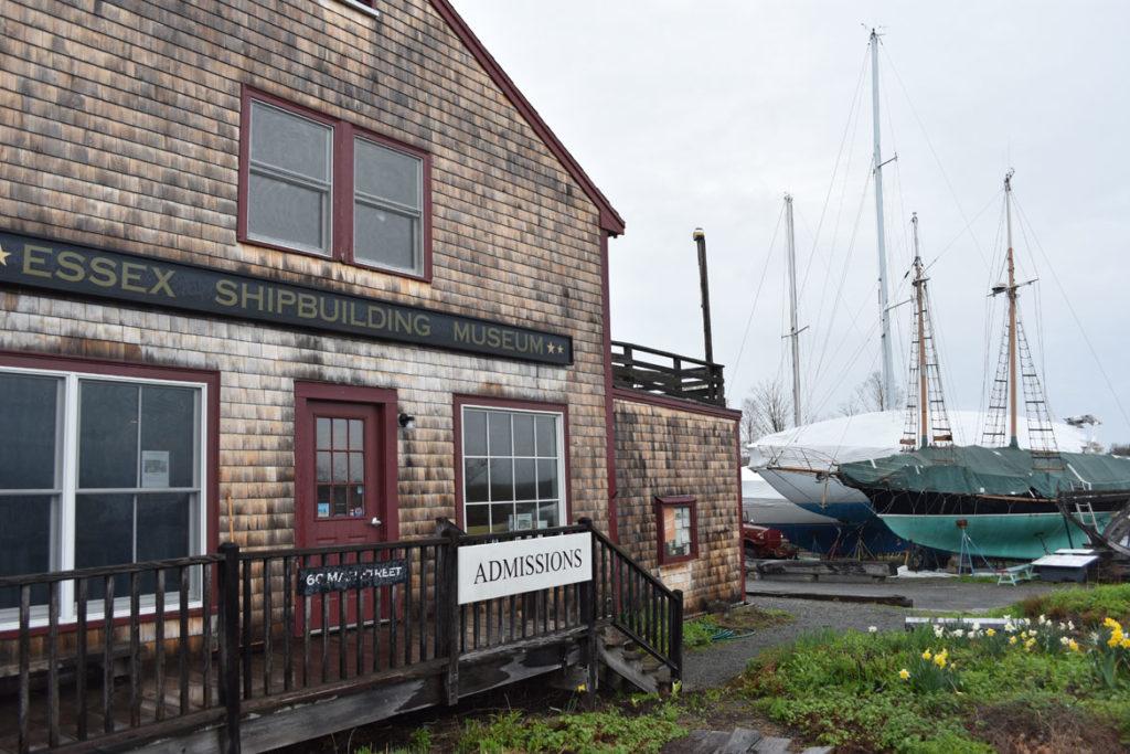 Essex Shipbuilding Museum in Essex, April 26, 2018. (Greg Cook)