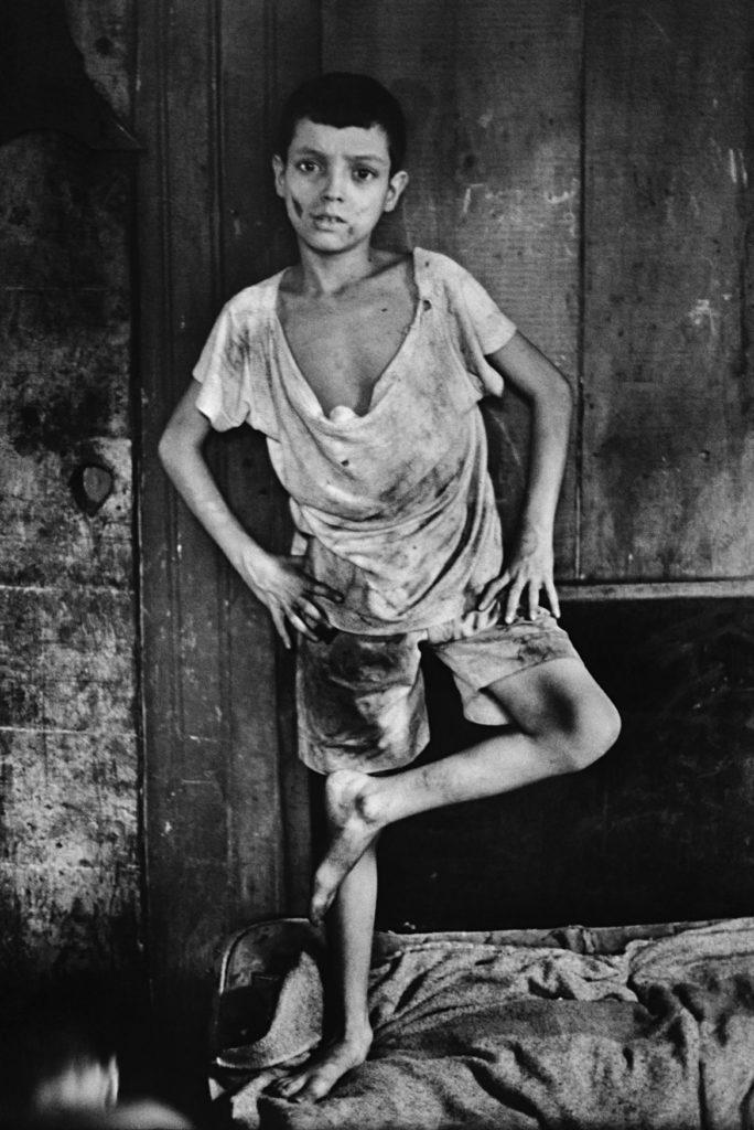 "Gordon Parks ""Flavio da Silva, Rio de Janeiro"" 1961 Gelatin Silver Print.(Courtesy of the Gordon Parks Foundation)"