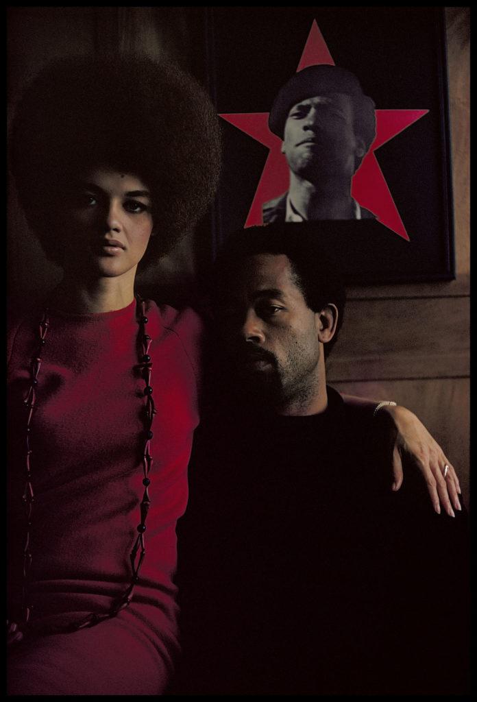 "Gordon Parks ""Eldridge Cleaver and His Wife, Kathleen, Algiers, Algeria,"" 1970 Archival Pigment Print. (Courtesy of the Gordon Parks Foundation)"