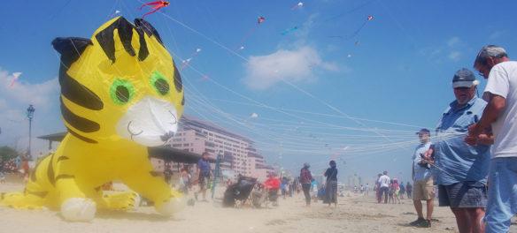 Revere Beach Kite Festival, May 17, 2015. (Greg Cook)