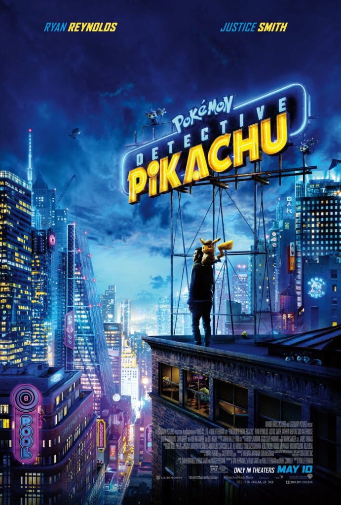 """""""Pokémon Detective Pikachu"""" poster. (Courtesy: Legendary Pictures and Warner Bros. Pictures)"""