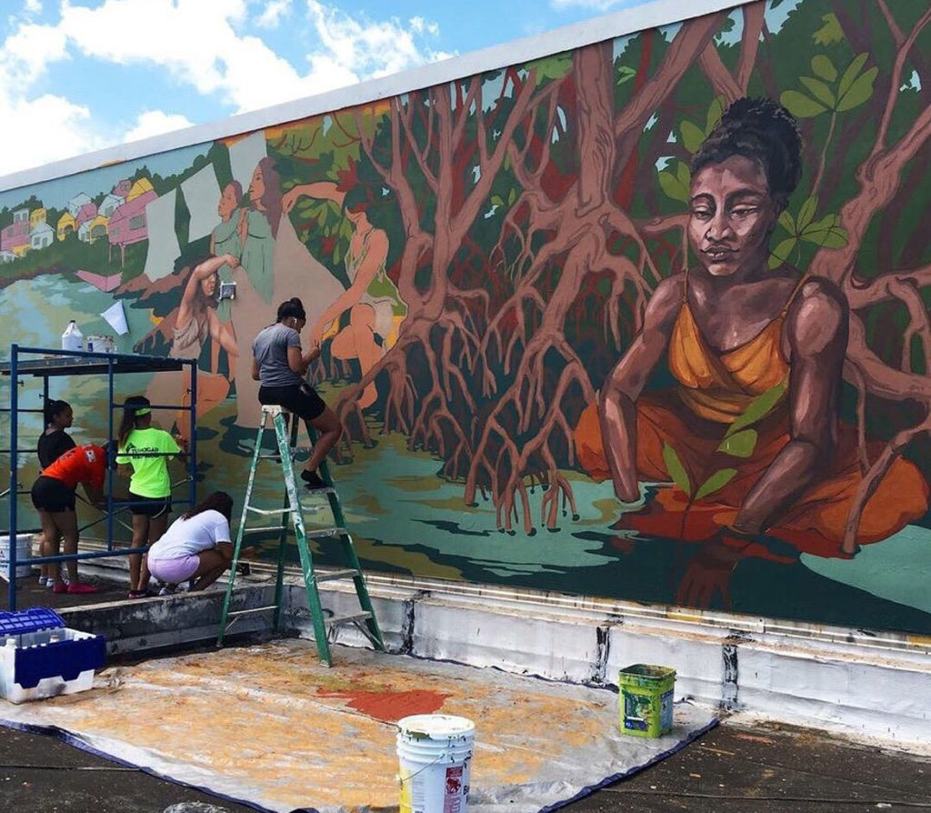 Colectivo Morivivi, one of the groups participating in 2019 Fresh Paint Springfield.