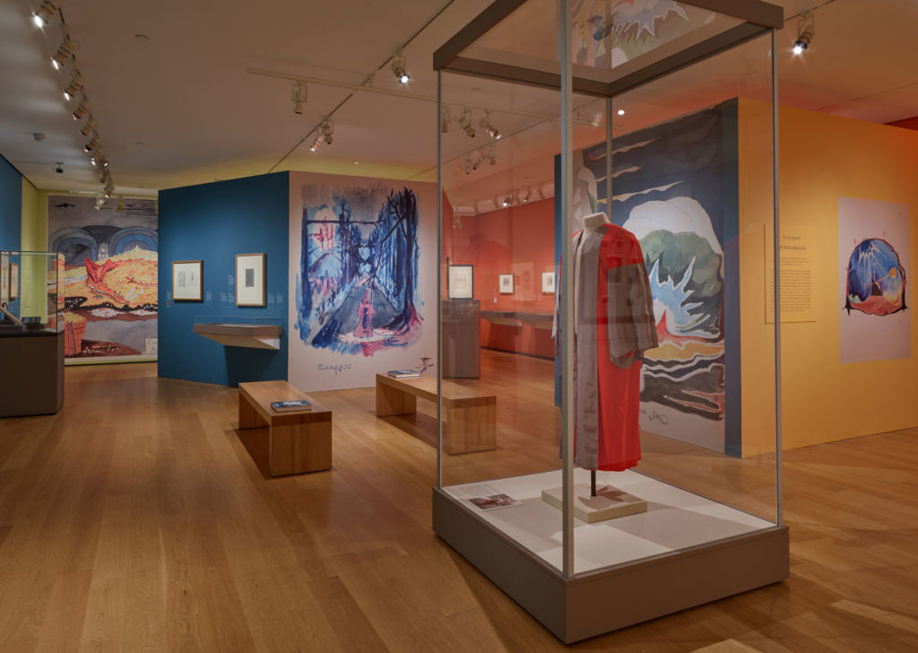"""Tolkien: Maker of Middle-earth"" exhibition at The Morgan Library & Museum, New York, 2019. (Photo: Graham S. Haber)"