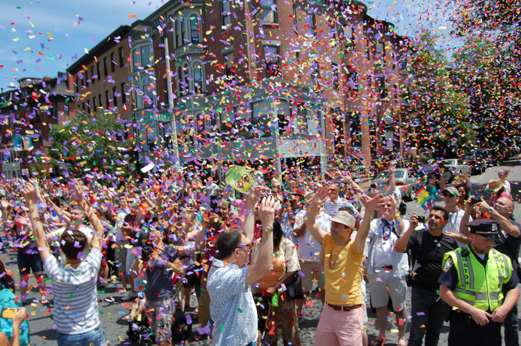 Boston Pride Parade, June 9, 2012. (Greg Cook)