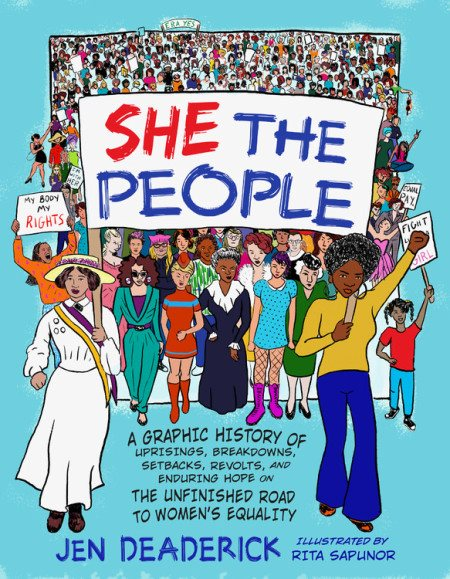 "Jen Deaderick's 2019 book ""She The People."""