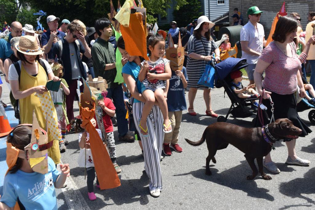 Fox Festival Parade in Arlington, June 15, 2019. (Greg Cook)