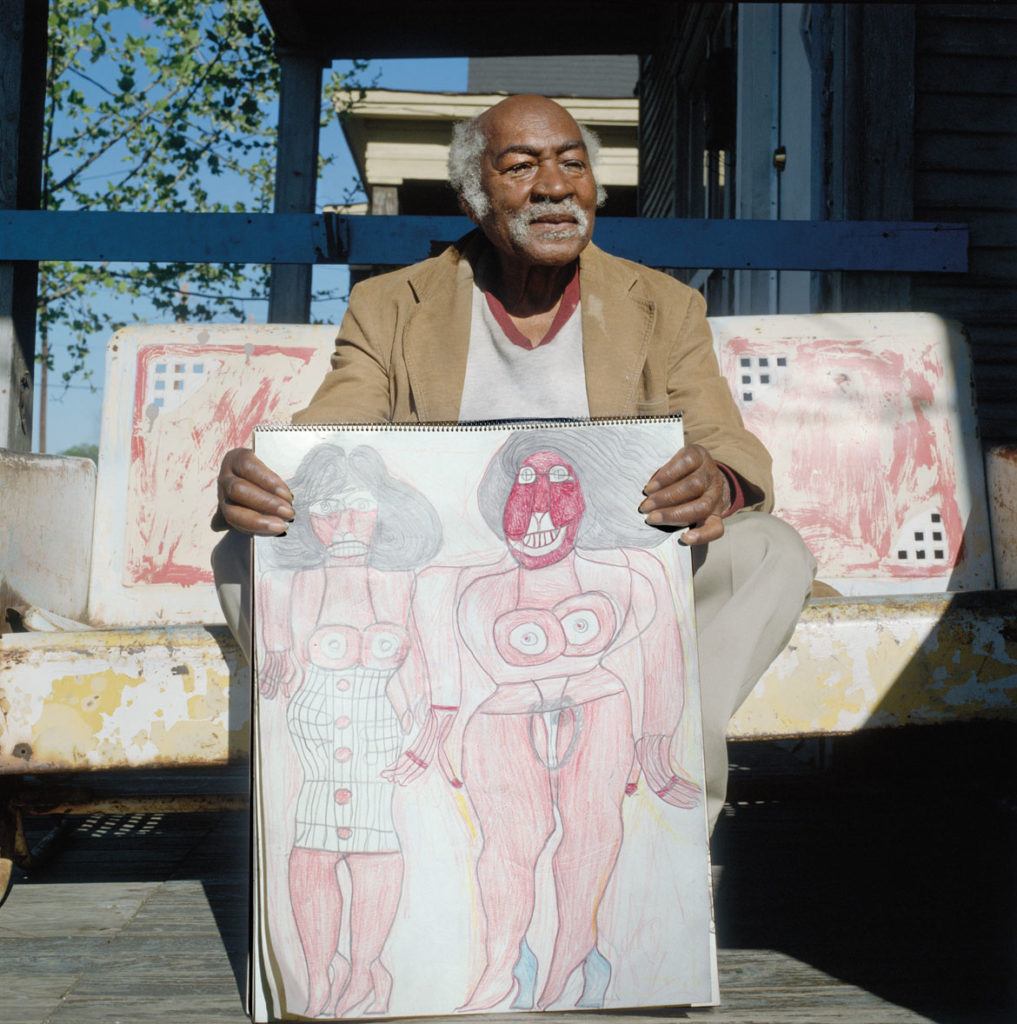 """Harry Speller,"" MemphisTN, 1988, by Guy Mendes. From ""Walks To The Paradise Garden."""