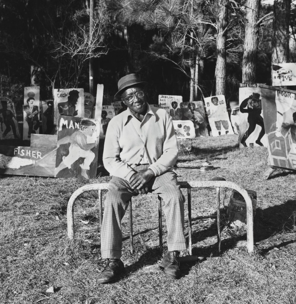 """Sam Doyle,"" St. Helena Island, SC, 1986, by Roger Manley. From ""Walks To The Paradise Garden."""