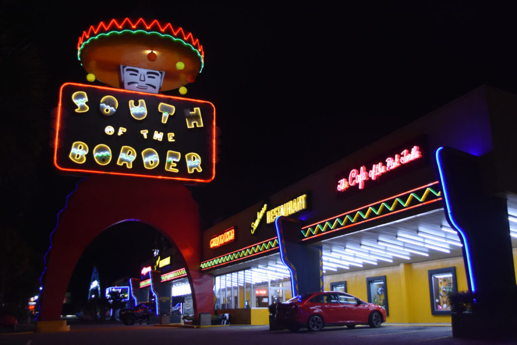 South Of The Border tourist trap, just south of the North Carolina-South Carolina border along Route 95, June 19, 2019. (Greg Cook)