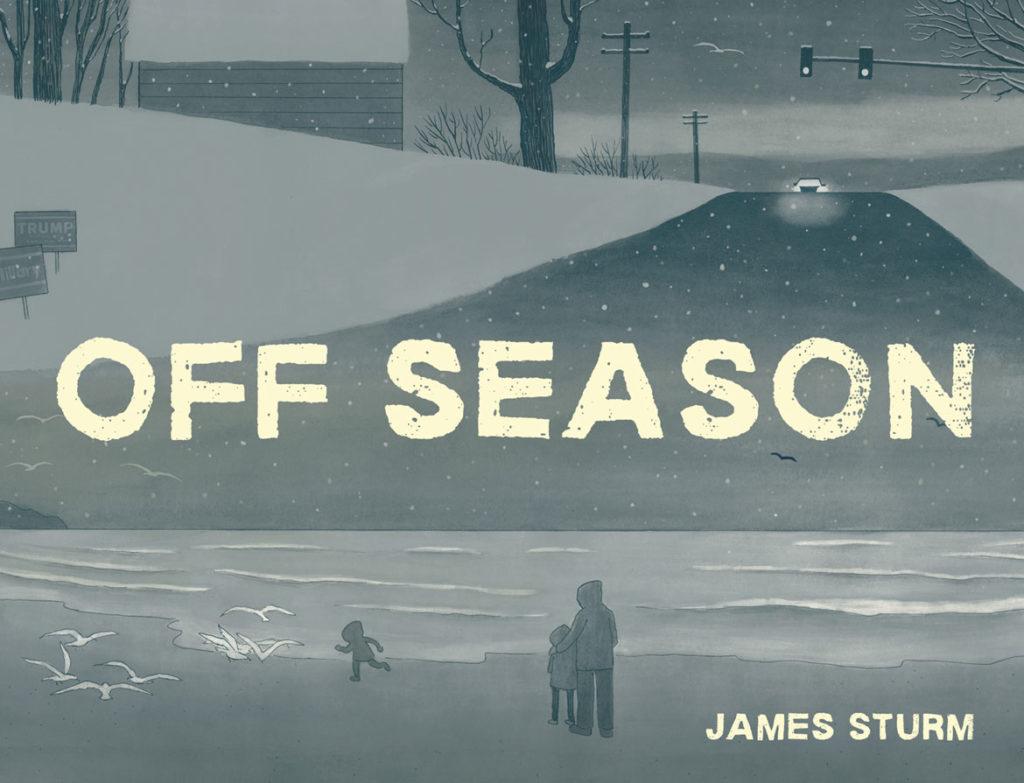 """Off Season"" by James Sturm. (Courtesy Drawn and Quarterly)"