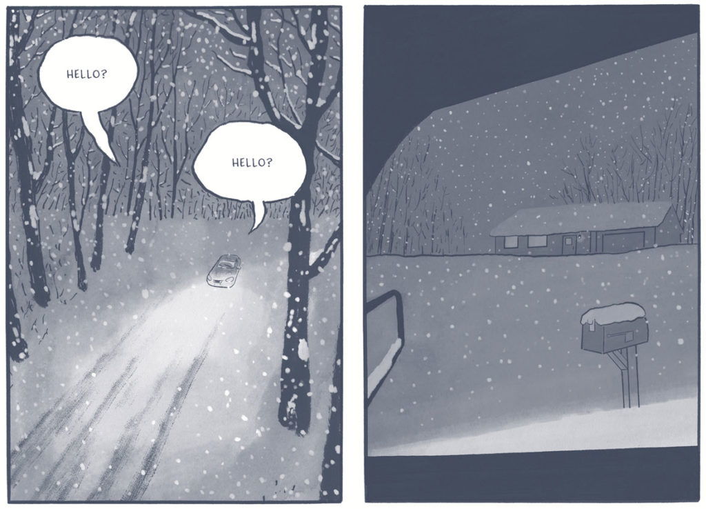 """From """"Off Season"""" by James Sturm. (Courtesy Drawn and Quarterly)"""