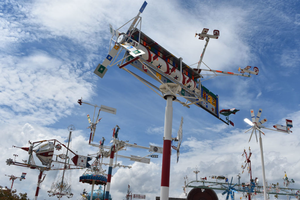 Vollis Simpson Whirligig Park & Museum, Wilson, North Carolina, June 19, 2019. (Greg Cook)