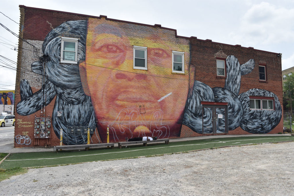 Mural in Atlanta, Georgia, June 24, 2019. (Greg Cook)