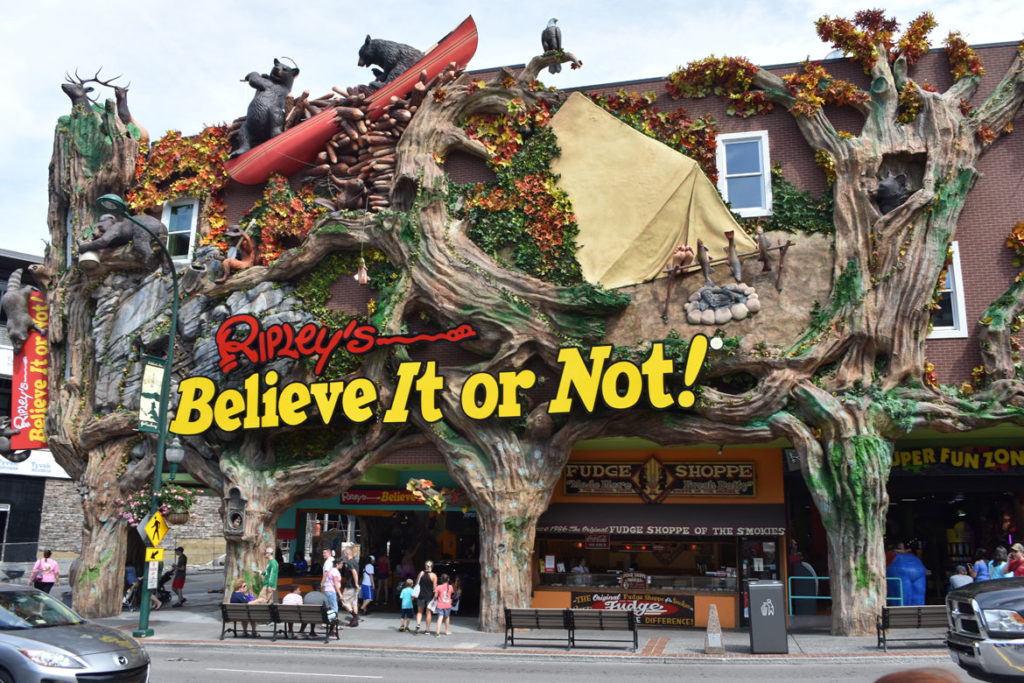 Ripley's Believe It or Not in Gatlinburg, Tennessee, June 26, 2019. (Greg Cook)
