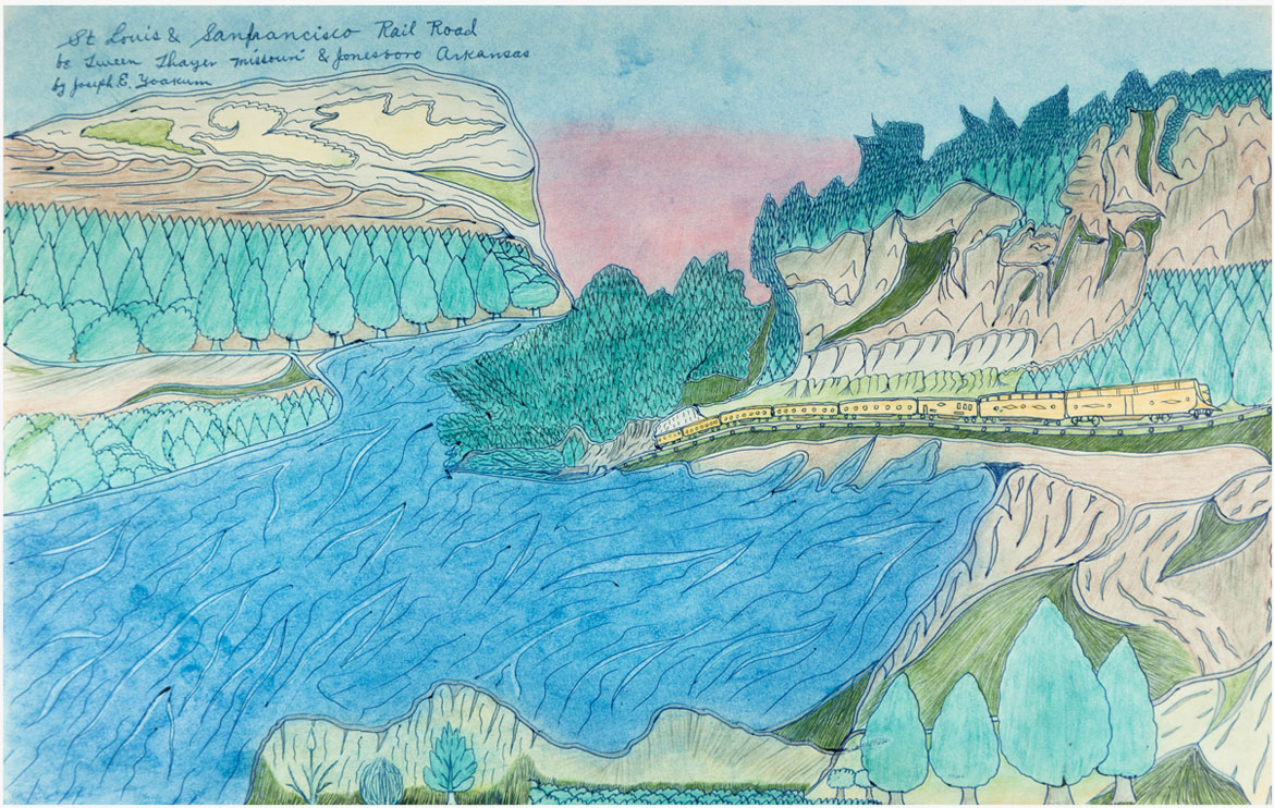 The Visionary Landscapes Of Joseph Yoakum: 'There's Nothing I Haven