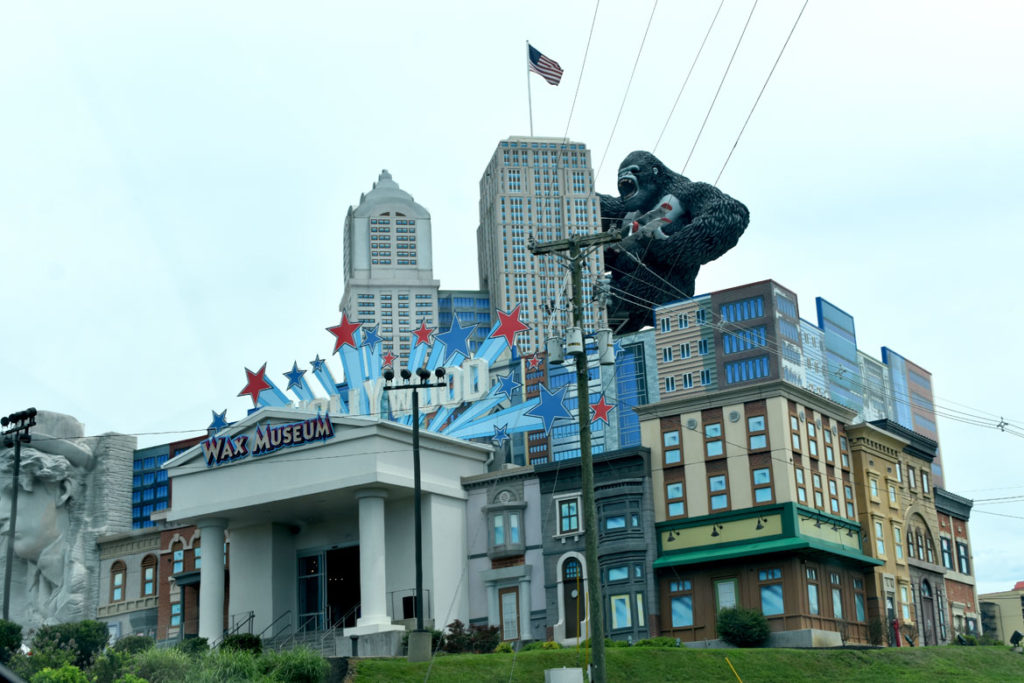 Hollywood Wax Museum at Pigeon Forge, Tennessee, June 26, 2019. (Greg Cook)