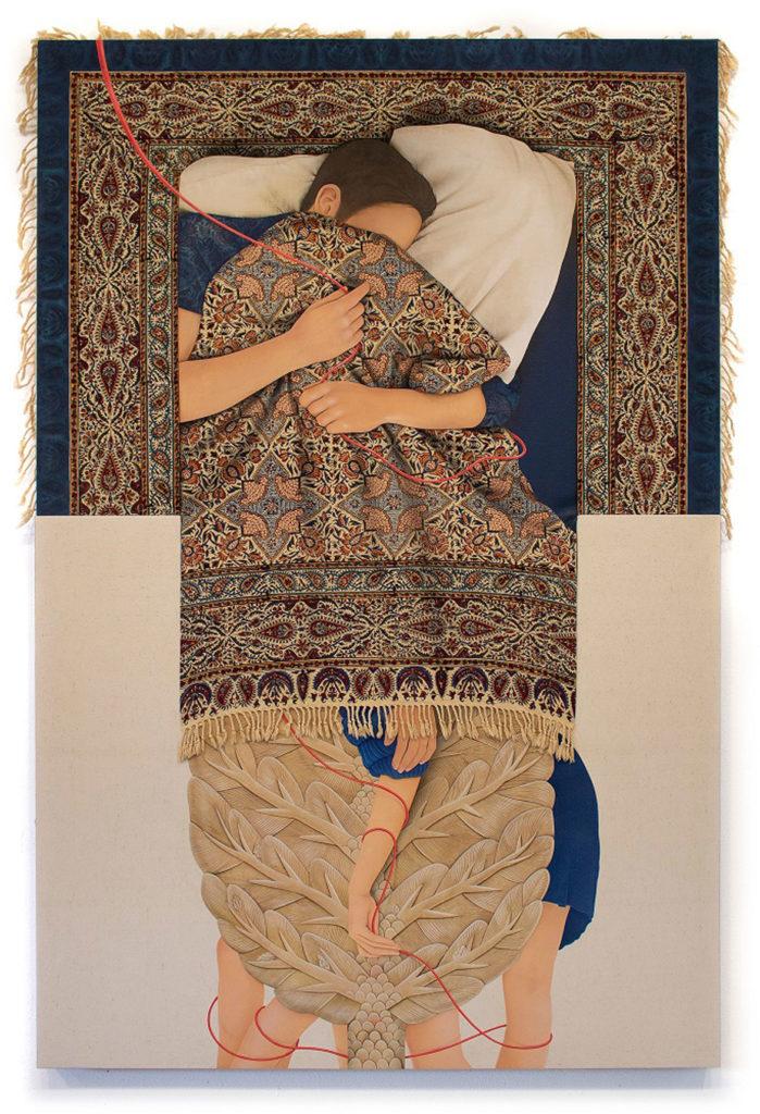 Artwork by Arghavan Khosravi of Natick.