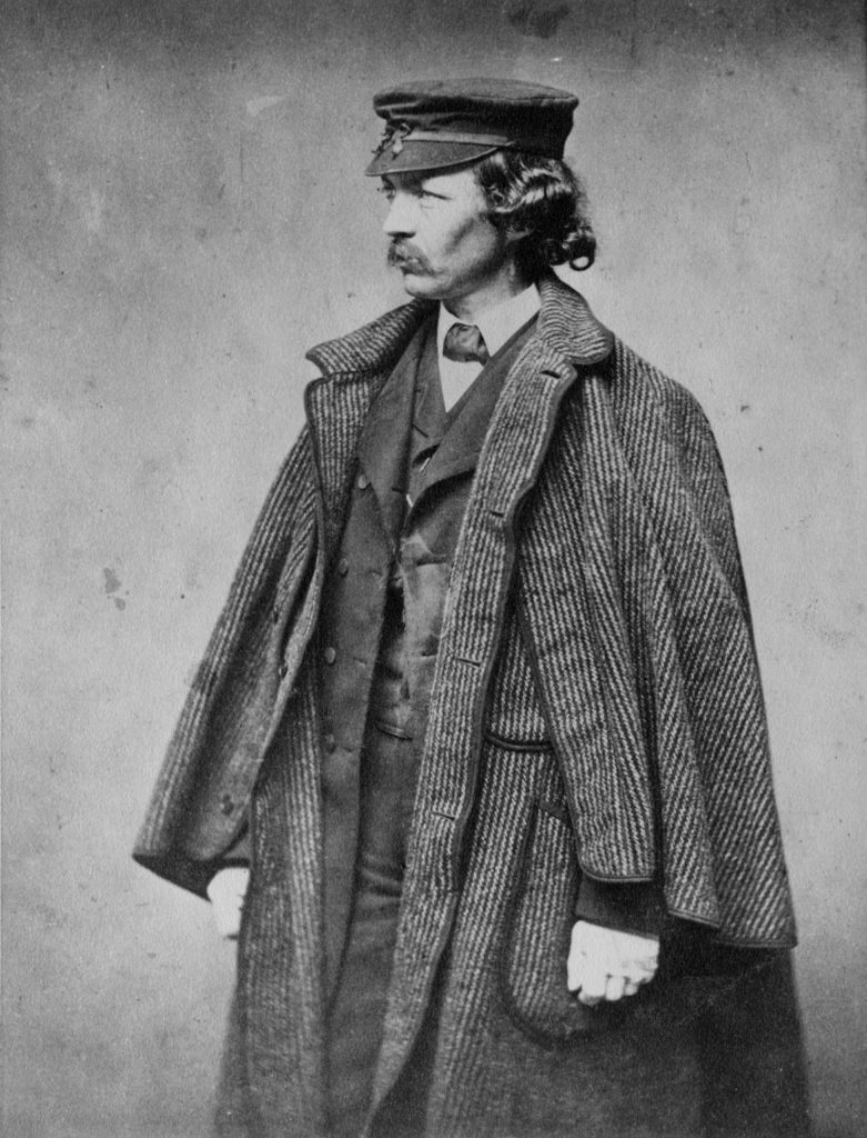 Frederick Law Olmsted, About 1860. Photographer Unknown. (Courtesy Isabella Stewart Gardner Museum)