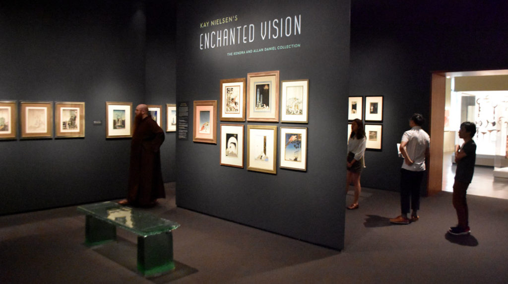 """Kay Nielsen's Enchanted Vision: The Kendra and Allan Daniel Collection"" at Boston's Museum of Fine Arts, July 19, 2019. (Greg Cook)"